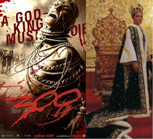 The Warner Bros. Blockbuster Movie triggered controversy in the exiled Persian Community for it's depiction of Persian King Xerxes