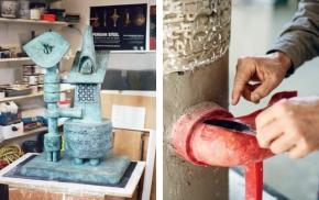"""""""Parviz Tanavoli: Sculpting the Nightingale"""""""