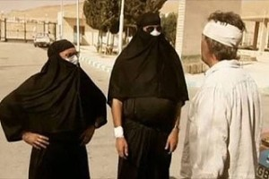 Boxing Day special. Top Gear's Richard Hammond and Jeremy Clarkson sparked outrage by dressing as women while in Syria. Photo: BBC