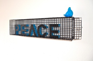 "Azadeh Ghotbi ""Give PEACE a Chance to Soar"" 2013"