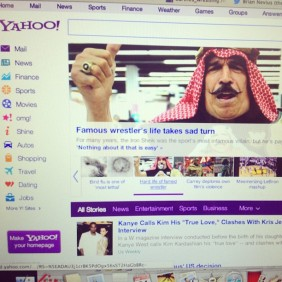 The Kickstarter appeal makes it straight to the front page of Yahoo this June.