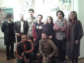 'Painters Out of Order' – International Stuckists in Iran