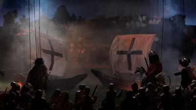 A still from Cabaret Crusades