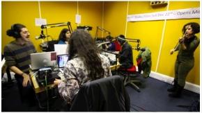 #IranUKSonics Live Resonance104.4FM Performance