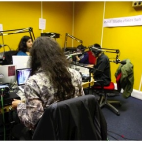 #IranUKSonics Live Resonance104.4FM Performance