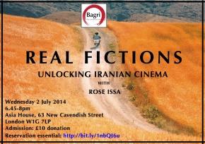 Real Fictions – Unlocking Iranian Cinema, LondonEvent