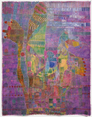 "Rossinante Under Cover I 51x42"", acrylic and pen on canvas, 2011"