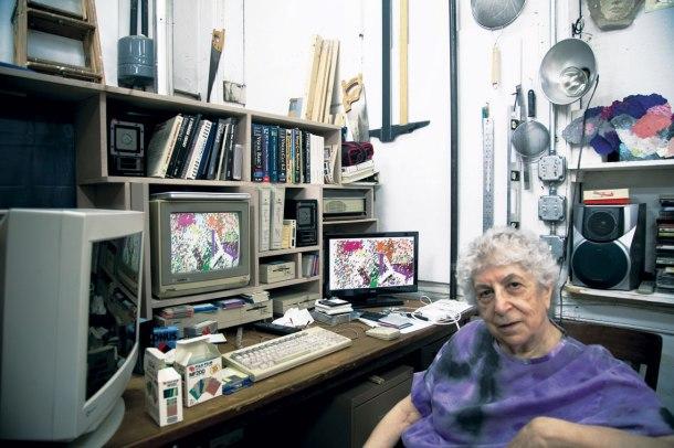 Samia-Halaby-computer