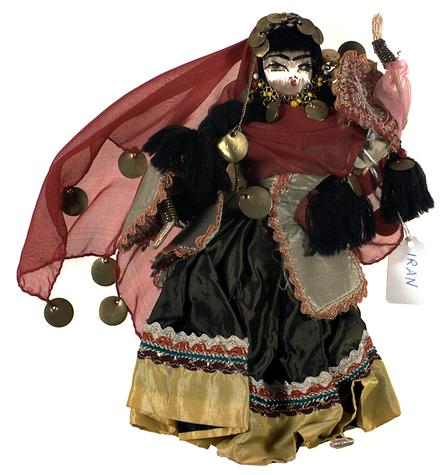 Tehrans doll museum displays latin american dolls six pillars a southwestern persian tribe who were traditionally nomadic pastoralists bakhtiari women are iconic in iran for their looks and traditions publicscrutiny Image collections