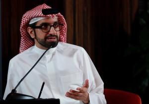 Sultan Al Qassmi speaking at UBER DXB