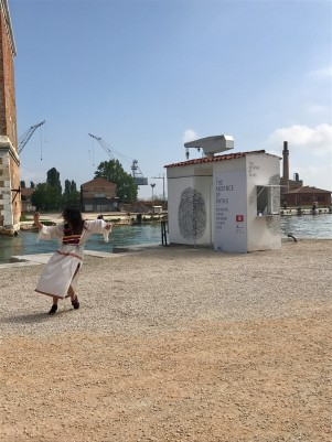 Dance at Navy Kiosk, Friday May 12th, Mani, Belkhodja, Symeonidis and Ghrab for The Tunisian Pavilion, The Absence of Paths at Venice Biennale