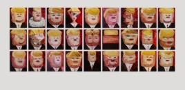 AK-Big-Brother-Oil-on-canvas-Twenty-seven-panels-23x19cm-each-2017