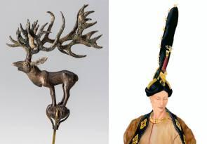 scythians british museum hair and elk