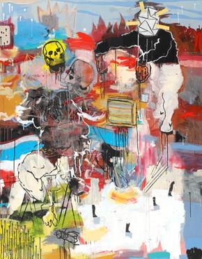 Six Pillars Broadcast – El Marsa Gallery, Tunis / Dubai and ThameurMejri.