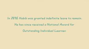 Dear Habib…